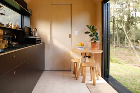 Tiny Off Grid Eco House From Fresh Prince Australia kitchen
