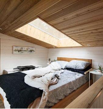 Trim Studio 100 sq foot house bedroom