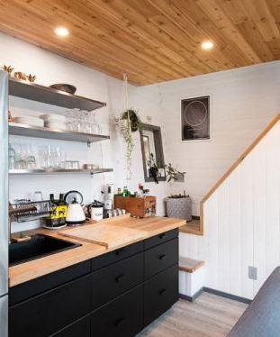 Trim Studio 100 sq foot house kitchen