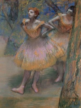 Two Dancers, c. 1893–98 Hilaire Germain Edgar Degas