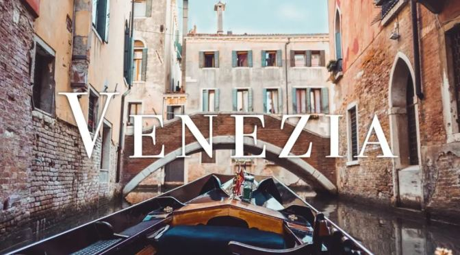 "Top New Travel Videos: ""Venezia"" Directed By Manuel Viera (2019)"