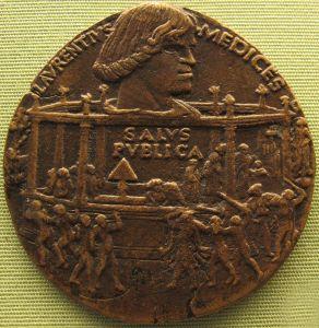 800px-Bertoldo_di_giovanni,_medaglia_della_congiura_dei_pazzi_(lorenzo),_1478