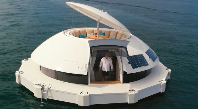 Future Of Tourism: Athenea Eco-Friendly Luxury Floating Suites Will Be Available Soon
