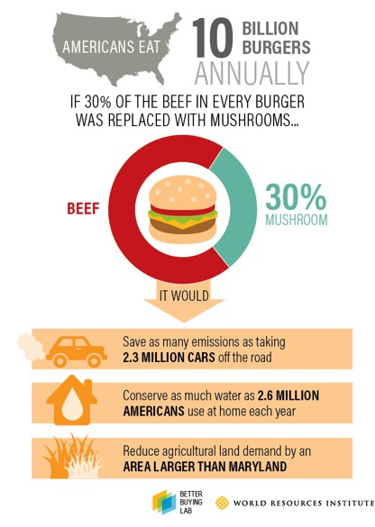 Blended Burger Graphic