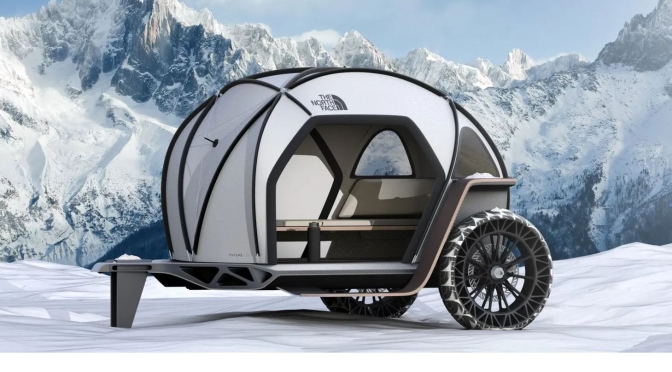 "Future Of Camping: The BMW – North Face ""Futurelight"" Camper"