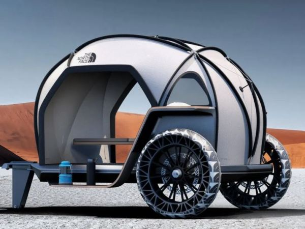 BMW Futurelight Camper sideview