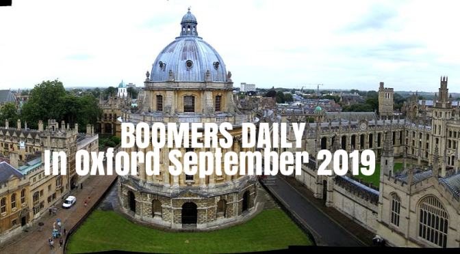 Road Trip To Oxford: Ashmolean Museum, Bodleian Library And The Radcliffe Camera