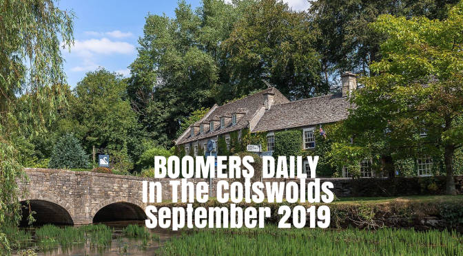 Driving The Cotswolds: Up To Stow-On-The-Wold, Bourton-On-The-Water & Bibury