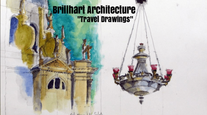 "Top Designers: Jacob Brillhart's ""Travel Drawings"" Seek To Find ""Persistencies"" In Physical And Living Architecture"