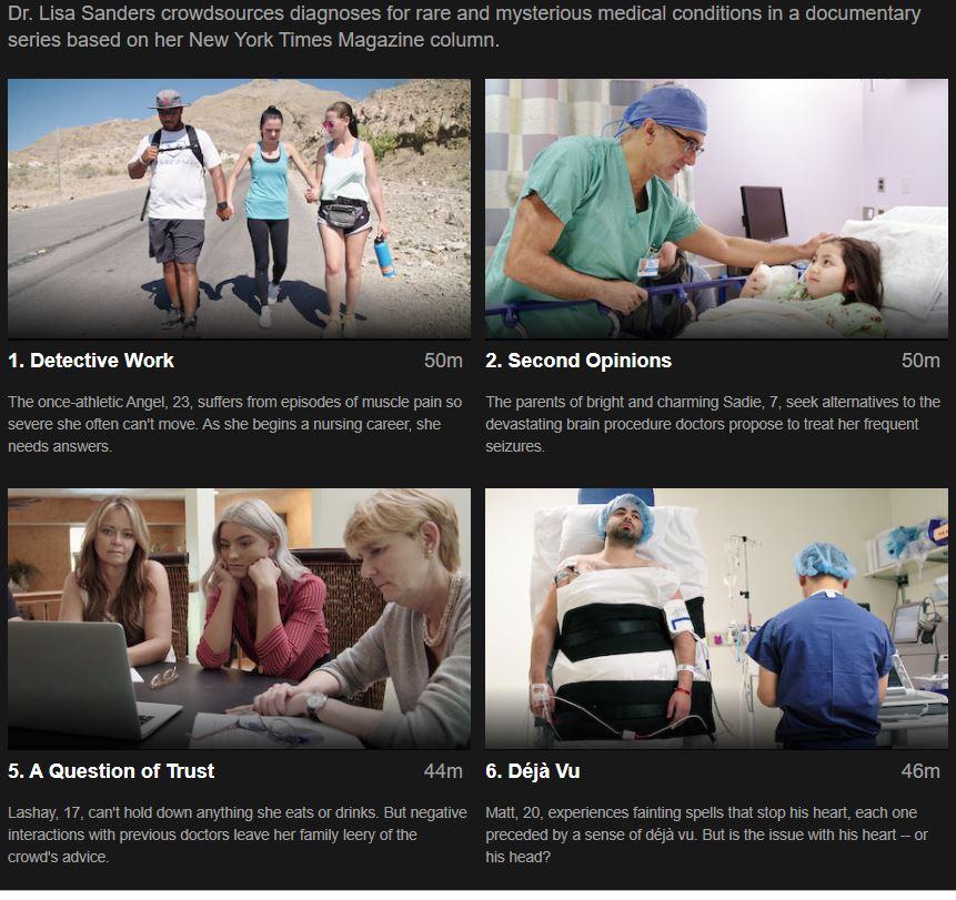 Diagnosis Netflix Episodes