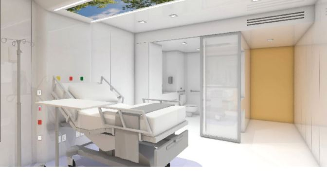 "Future Of Hospital Design: EIR Healthcare's Prefab ""MedModular"" Hospital Rooms Are Customizable"