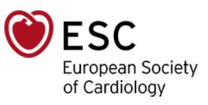 Eurpean Society of Cardiology
