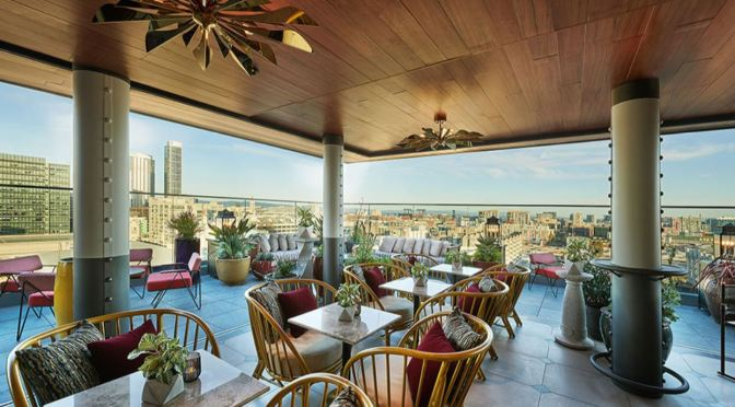 "Top Hotel Bars: ""Everdene"" At The Virgin Hotels San Francisco Has ""Standout"" Rooftop City Views"