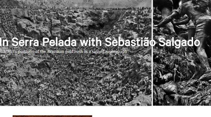 "Collectible Books: ""Gold"" By Sebastião Salgado Chronicles The Brazilian Gold Rush (Taschen)"