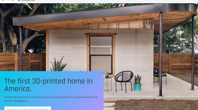 Housing Innovations: ICON Builds First Permitted 3D-Printed Homes In Austin, TX
