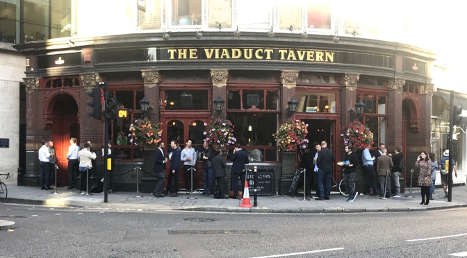 Top Pubs In London: The Viaduct Tavern