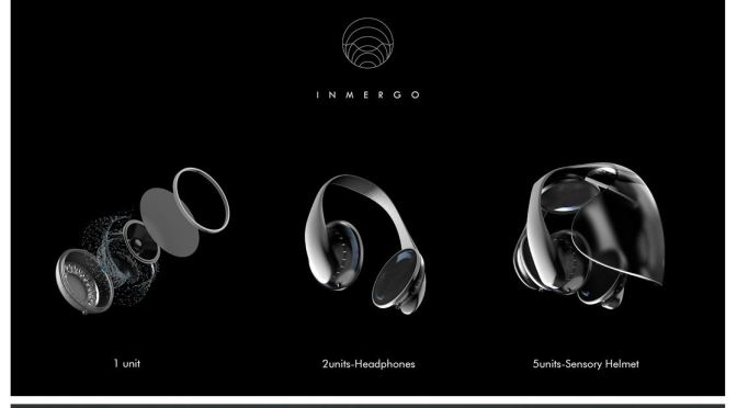 """Technology Innovations: Inmergo Headphones By Rocco Giovannoni – """"Like You're Inside The Song"""""""