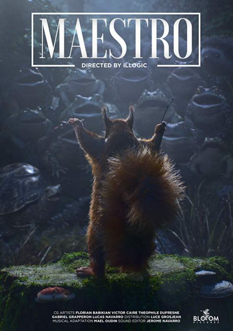 Resultado de imagem para Opera performed by animals | Maestro - CG short film by Illogic collective