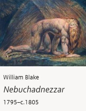 Nebuchandnezzar by William Blake