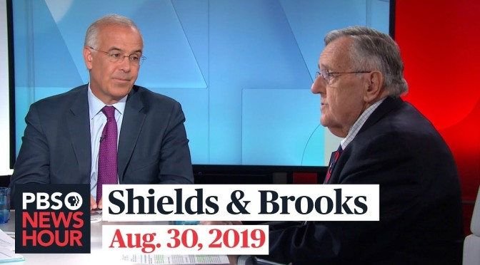 Top Political Podcasts: Shields And Brooks Talk About G-7, Debates (PBS)