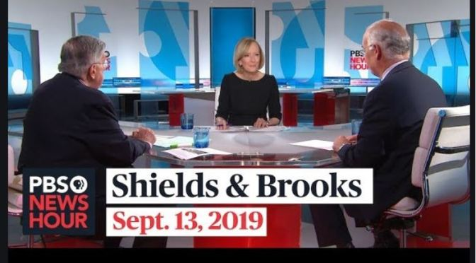 Top Political Podcasts: Mark Shields And David Brooks Discuss Third Democratic Debate (PBS)