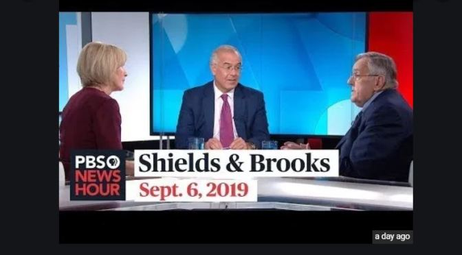 Top Political Podcasts: Mark Shields & David Brooks Discuss The Latest In Washington (PBS)