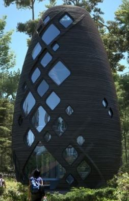 Tera Airspacefactory Sustainable home exterior
