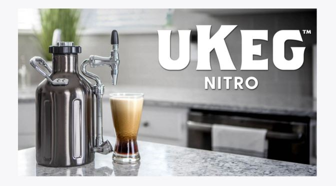 New Kitchen Innovations: Nitro Cold Brew Coffee Maker (GrowlerWerks)
