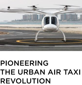 Volocopter Urban Taxi Revolution