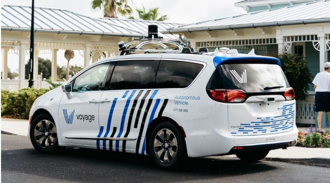 "Future Of Mobility: Self-Driving Car Venture ""Voyage"" Specializes In Retirement Communities"