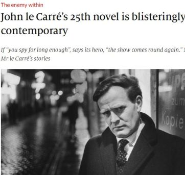 Agent Running In The Field John LeCarre The Economist