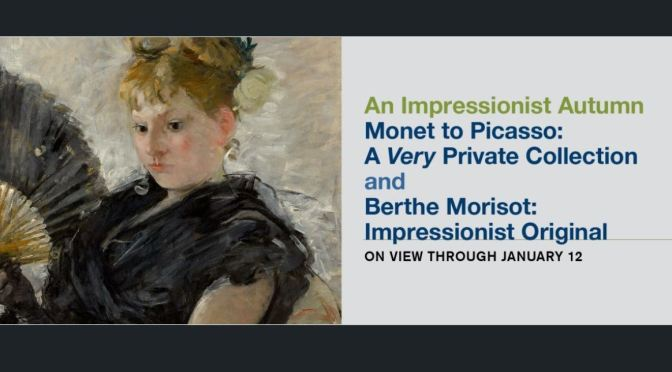 """Top New Exhibitions: """"An Impressionist Autumn"""" At The Museum Of Fine Arts, Houston Thru January 12"""