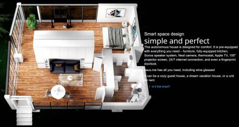 Autonomous off the grid smart houses from Haus.me