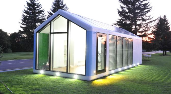 Future Of Housing: Autonomous Off-The-Grid Prefabricated Smart Homes From Haus.me