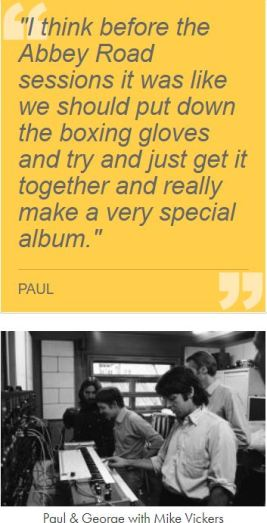 Beatles Abbey Road Quote from Paul McCartney