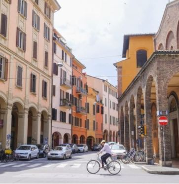 Bologna Italy Biking