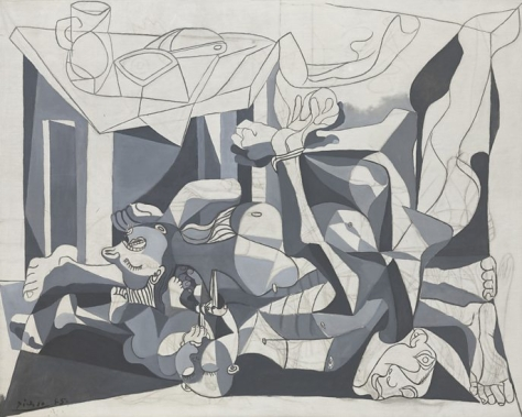 Charnel House by Picasso