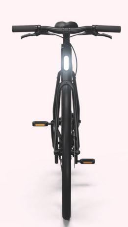 Cowboy Electric Bike integrated lights