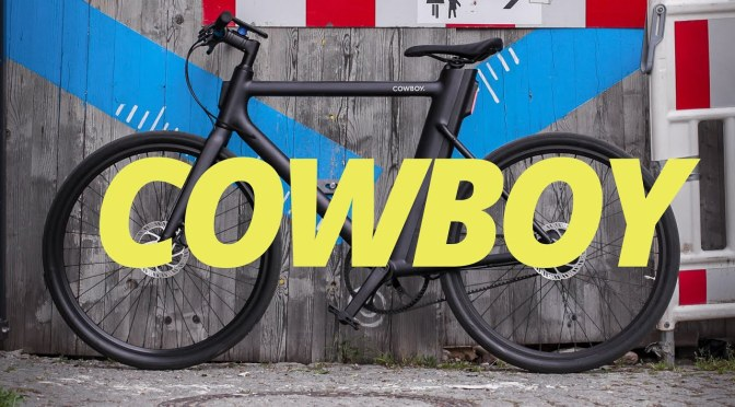Technology: Cowboy Electric Bike Is Lightweight, With Integrated Lights & Removable Battery