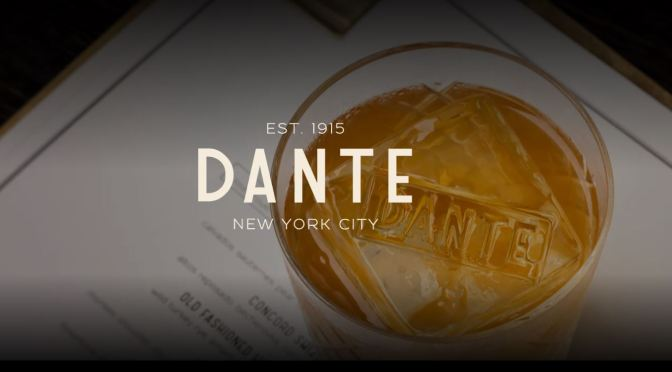 "Cocktail Scene: ""Dante"" In New York City Voted ""2019 Worlds Best Bar"""