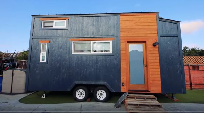 "Future Of Housing: Couple Builds ""Absolutely Beautiful, Modern"" Tiny House For $25,000 Budget"