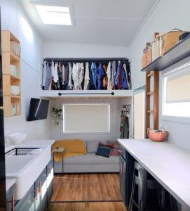 DIY Tiny House Trish and Saul interior 2