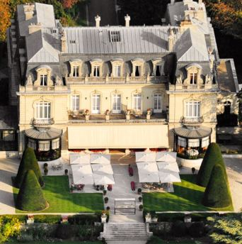 Domaine Les Crayères Hotel in Champagne, France