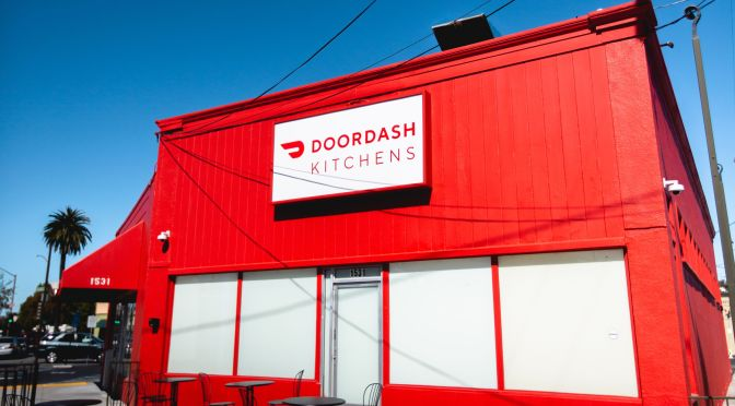 "Future Of Dining: Door Dash Kitchens Launches First ""Ghost Restaurant"" In Redwood City, CA"