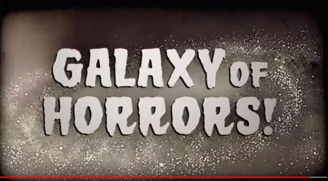 "Halloween 2019: ""Galaxy Of Horrors!"" Video And Posters From NASA Jet Propulsion Laboratory"