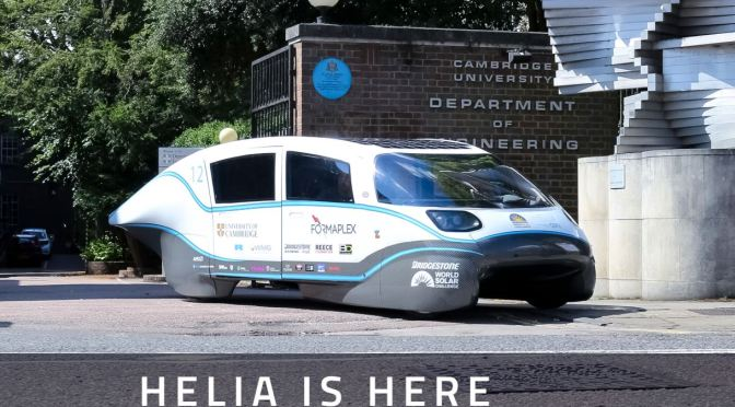 Transportation: Cambridge University Builds Ultra-Efficient, 560-Mile Range Electric Car