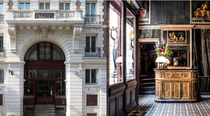 "Travel: Restored Hotel ""Les Bains"", Paris Hosted Marcel Proust & Émile Zola Over Century Ago"