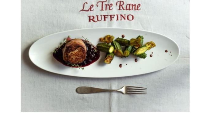 "Destination Restaurants: Newly Opened ""Le Tre Rane"" Inspired By Da Vinci Just Outside Of Florence"