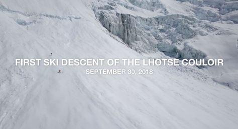 Lhotse The North Face Ski Descent Short Film Directed by Dutch Simpson 2019