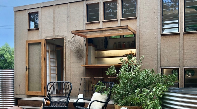 "Top Tiny Homes: Little Byron Unveils ""Ingenious Living And Sleeping Area"" With Open Air Bar"